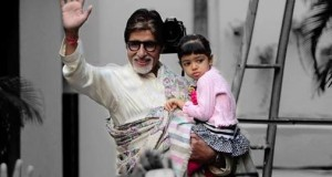Aaradhya imitates my dance moves quite cutely, says Amitabh Bachchan