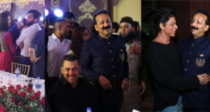 Shah Rukh Khan, Salman Khan and other Bollywood bigwigs attend Baba Siddique's Iftaar party..