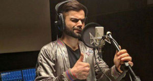 Virat Kohli showcases his cool moves on A.R.Rahman's new tune!!