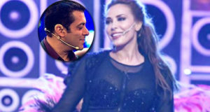 Rumoured girlfriend Lulia Vantur performs on Salman's songs at the Stardust awards!