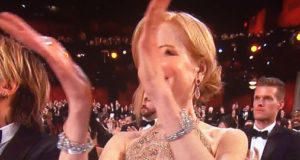Nicole Kidman's Claps Are The Funniest Thing At The Oscars!