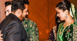 Salman Khan's ex and present clash at Neil Nitin Mukesh's reception!