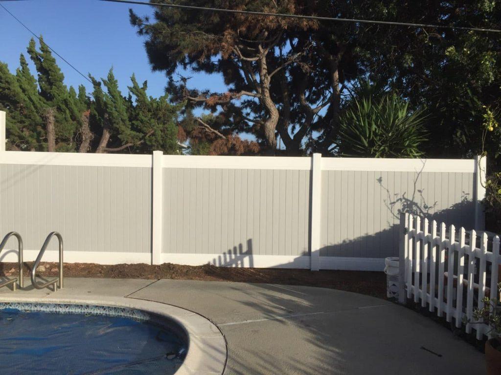 Vinyl Privacy Fence, Vinyl Pool Fence