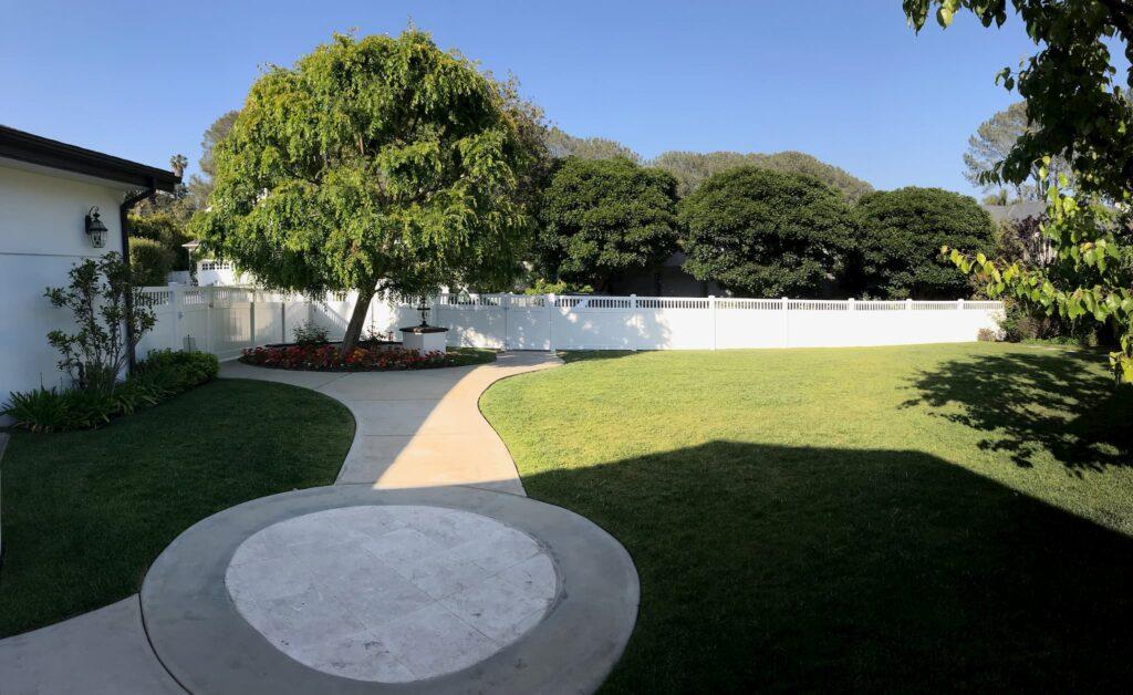 Vinyl Privacy Fence Los Angeles