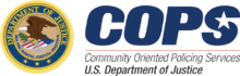 Logo for Community Oriented Policing Services (COPS)   U.S. Department of Justice