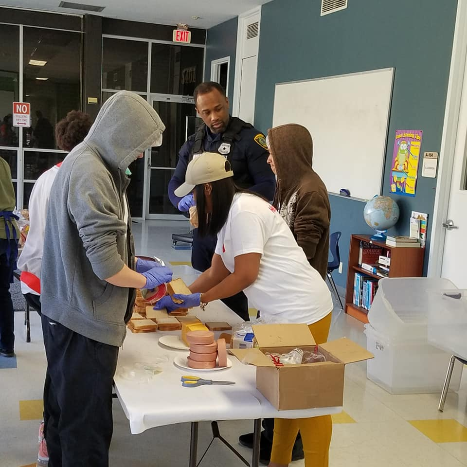 PROGRAMS – Service-learning is required in TAPS Program