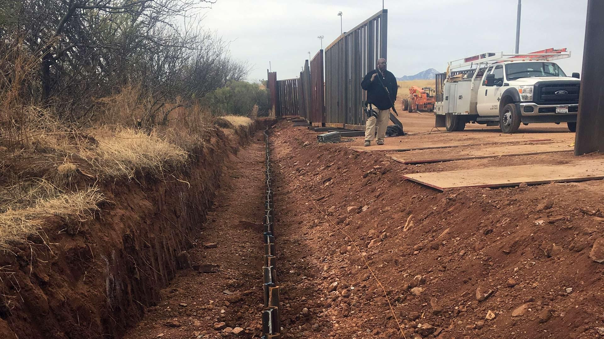Border Fence - Nazco, AZ