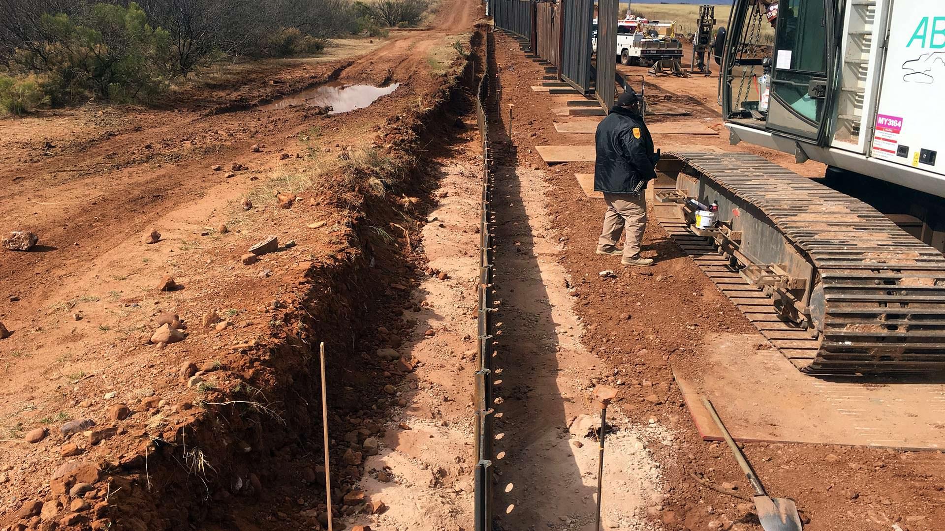 Border Fence - Naco AZ