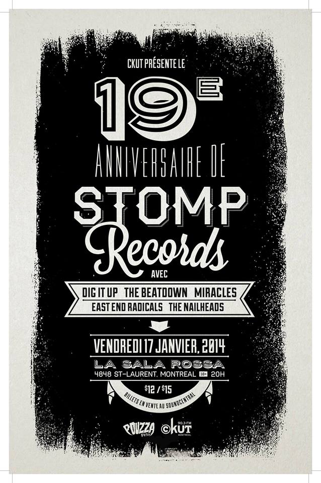 Stomp Recrods poster