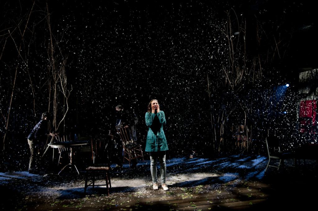 Shannon Currie as Nina in the Seagull.  Photo Andrée Lanthier.