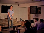 Jon Selig at Stand Up at the M