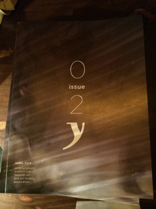 The second issue debuted April 5th; a second printing will be happening shortly. Photo Althea Thompson.