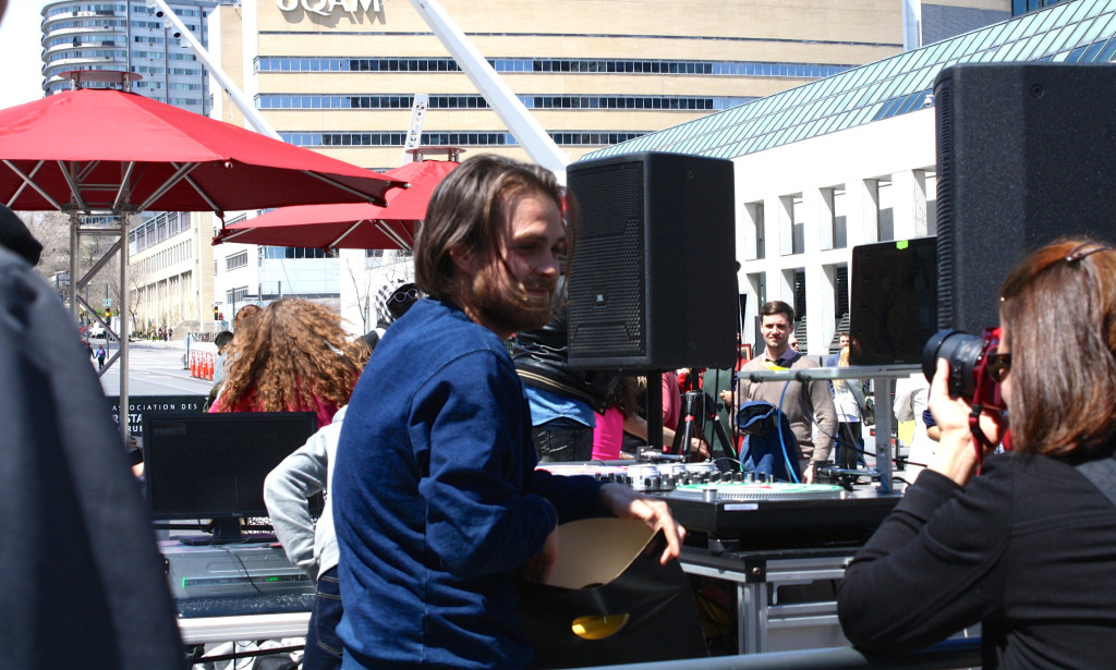 Rilly Guilty. Lunch Beat Montreal. Photo Rachel Levine