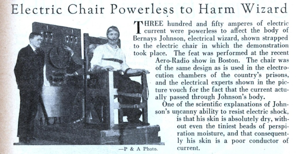 electric chair powerless to harm wizard
