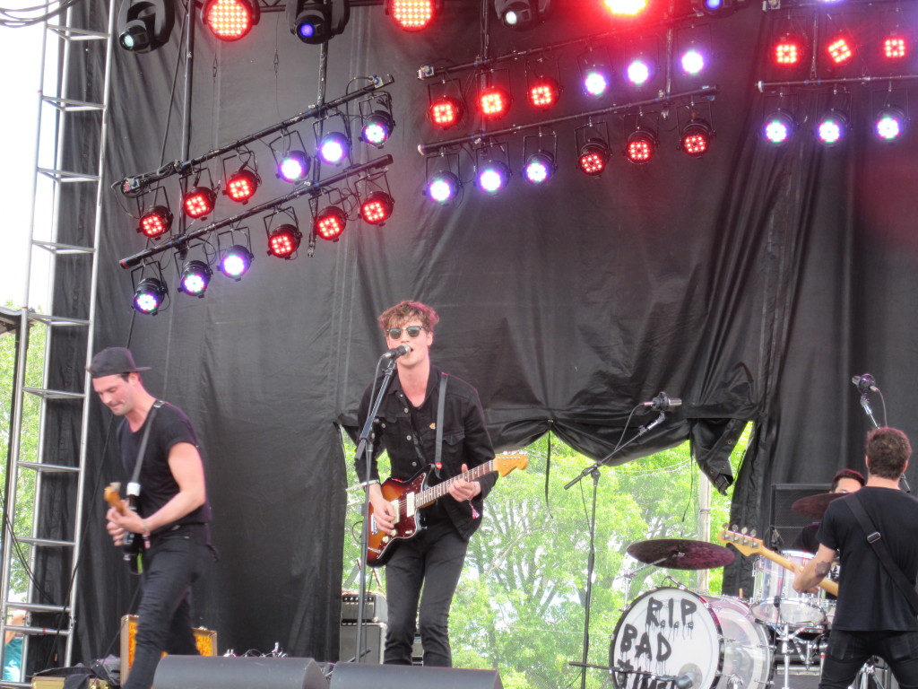 Drowners at Governor's Ball 2014 New York. Photo by Robyn Homeniuk