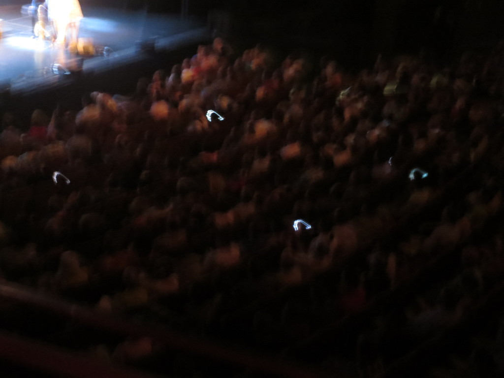 There were a many phones raised for this encore