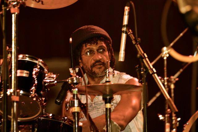 Sly on Drums. Photo Montreal Jazz Fest.