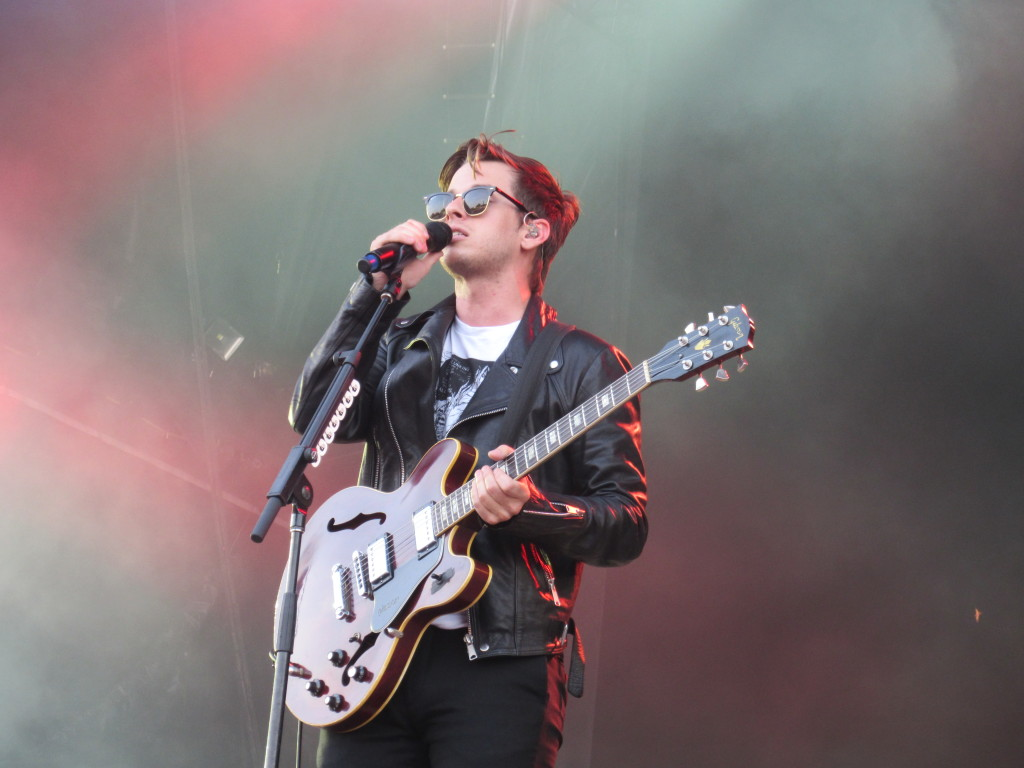 Foster The People at Osheaga Festival, Montreal. Photo By Robyn Homeniuk.