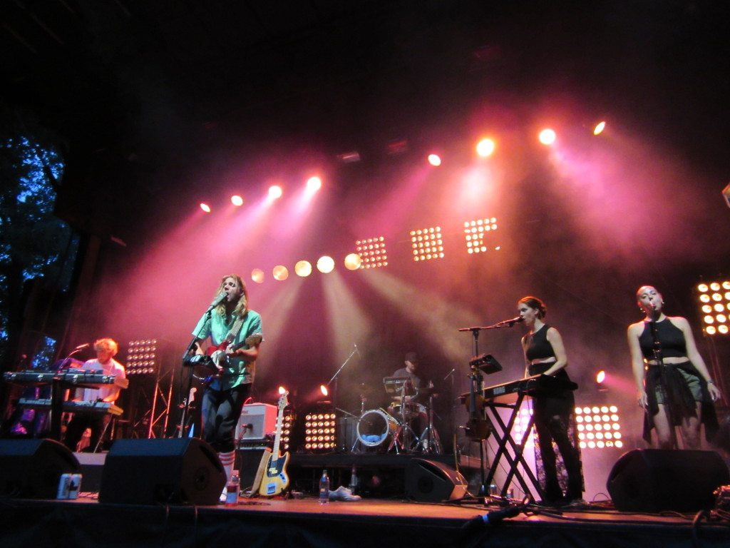 Young & Sick at Osheaga Festival, Montreal. Photo By Robyn Homeniuk.