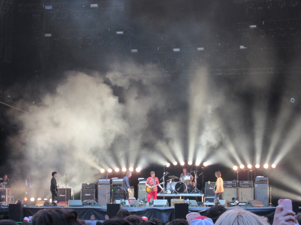 The Replacements at Osheaga Festival, Montreal. Photo By Robyn Homeniuk.