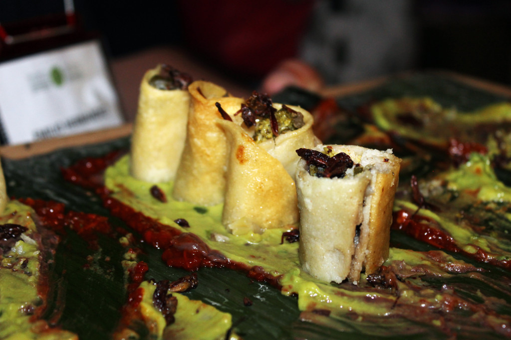 Insects as Food. Future Food Salon. Photo Lisa Vlasova. You can always eat cricket instead... always fresh.