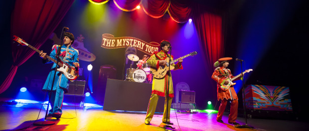 The Mystery Tour and Sgt. Pepper's