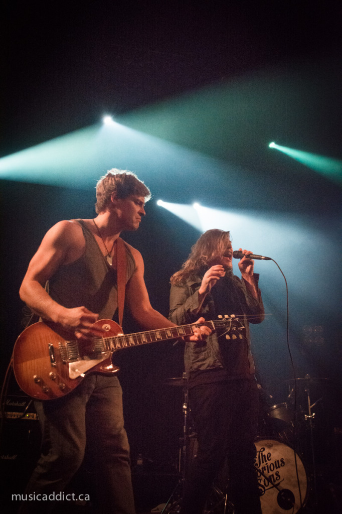 The Glorious Sons October 16 2014. Photo by Jean-Frederic Vachon
