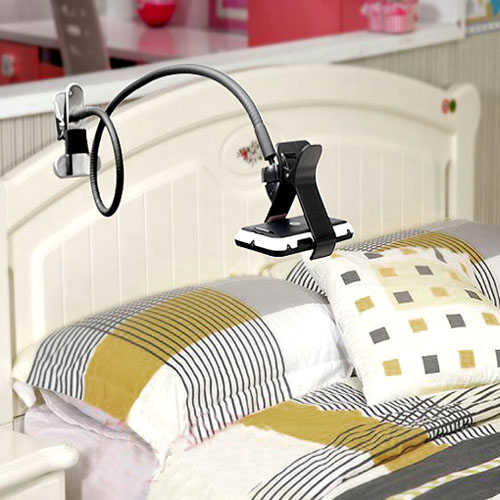 cell phone over bed