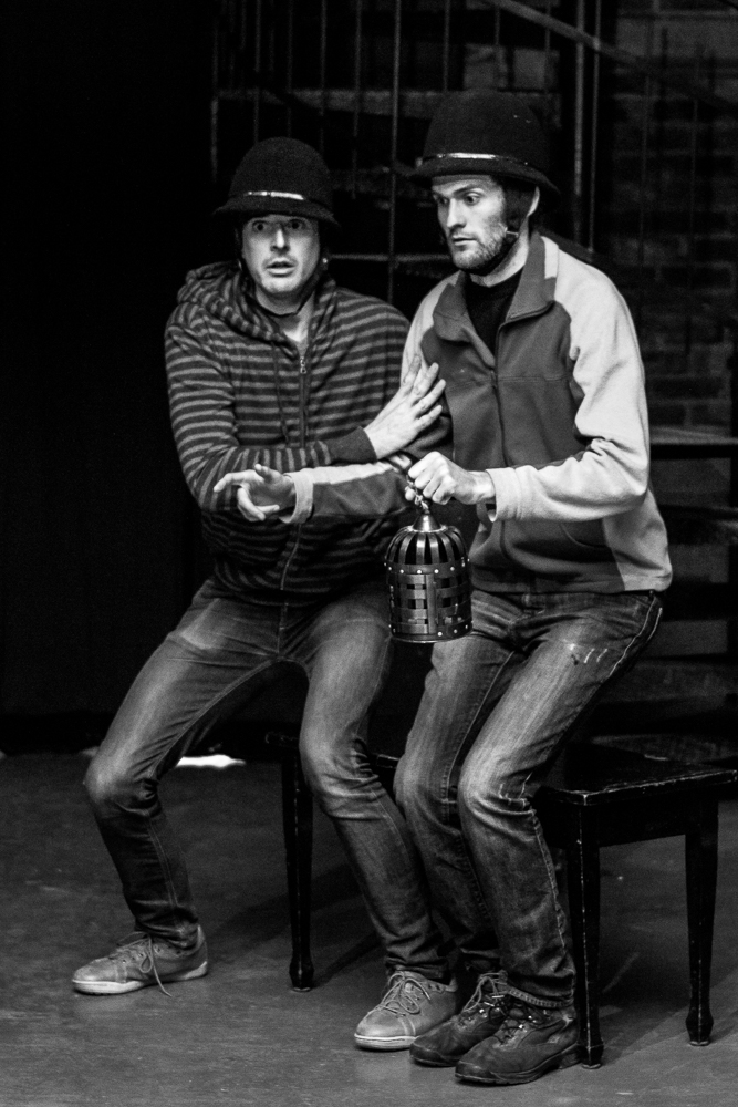 Much Ado About Nothing.  Andre Simoneau and Martin Law (Watchmen)