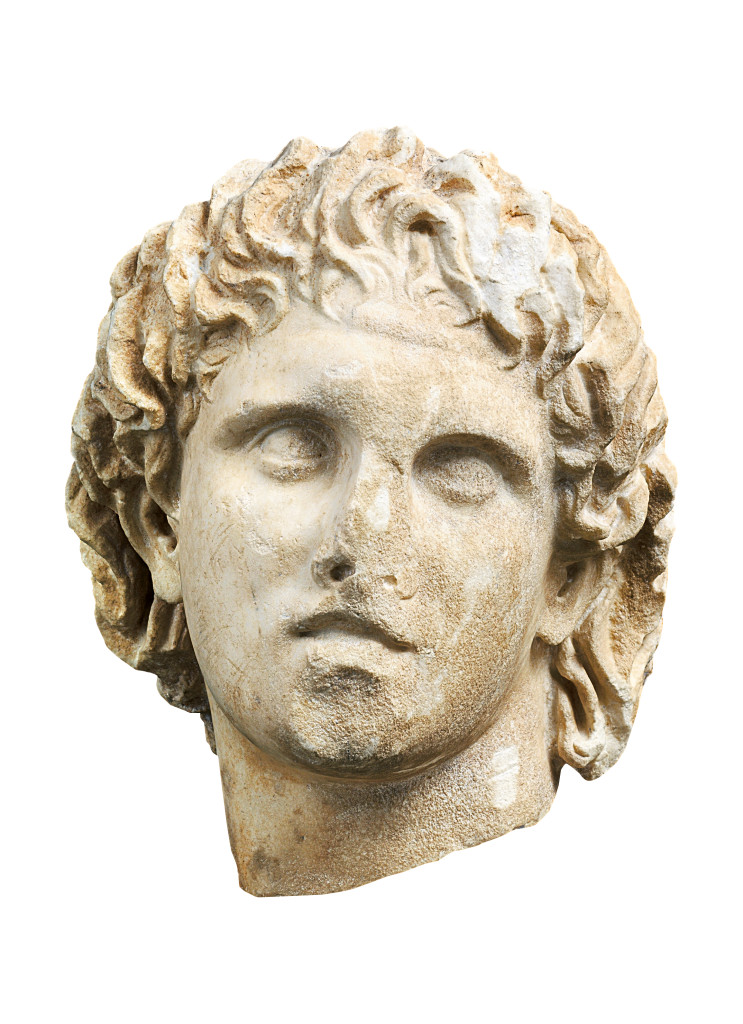 alexander the great head. The Greeks from Agamemnon to Alexander the Great