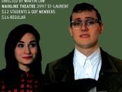 the anger in ernest and ernestine. Chocolate Moose Theatre