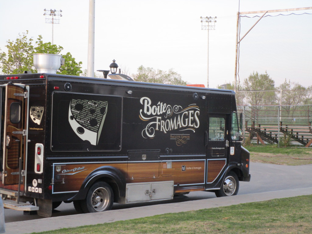 Boite a Fromages. Food Truck. Photo Rachel Levine