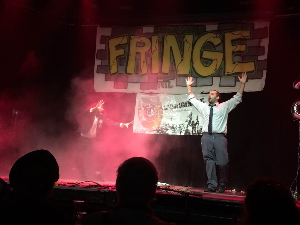 James McGee. Fringe For All 2015. Look at this Guy! Photo Julie Santini.
