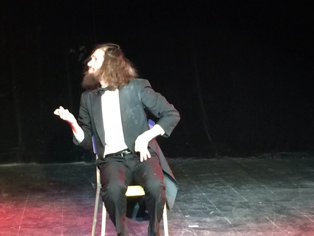 Shredder McRocksoff - To Be With You. Provincial Air Guitar Championship. Fringe Show: Look At This Guy . Photo Julie Santini.