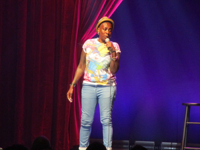 Gina Yashere. Just for Laughs Ethnic Show. Photo Rachel Levine