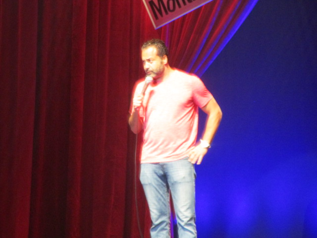 Ahmed Ahmed. Just for Laughs Ethnic show. Photo Rachel Levine