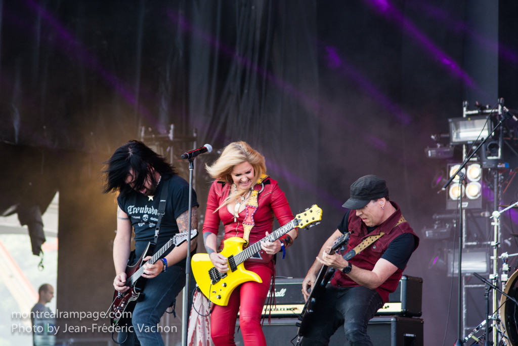 Heavy Montreal - Lita Ford - August 08, 2015 - PHoto Jean Frederic Vachon