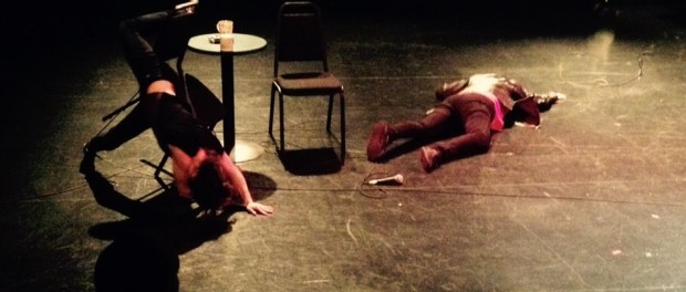 Jackie Gallant and Karen Fennel. The Trouble with Reality. Photo A. Potvin.
