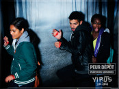 Nicole Yeba and friends at Peur Depot. Old Port.