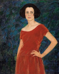 """Randolph S. Hewton, """"Miss Audrey Buller"""", About 1919-1920.  Ottawa, National Gallery of Canada. Photo ©NGC"""