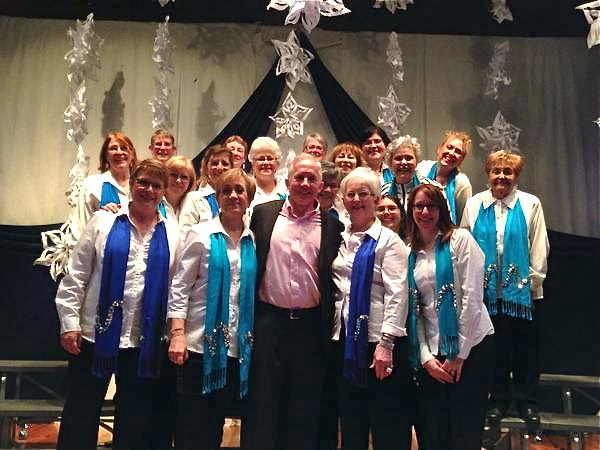 : Harmony Winterlude 2014 with Montreal City Voices and Richard Dagenais. Photo by La Magicienne Po-Po