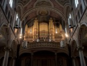 The organ of the Church of the Gesù. Photo credit: Church of the Gesù.