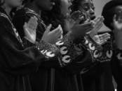 Imani Gospel Singers. Photo by Mariel Rosenbluth from Facebook page