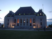 Look familiar? The Ottawa headquarters of the Federal Courts of Canada are actually headquartered in the Supreme Court Building. Photo credit: Stephen Boisvert/Flickr/Wikimedia Commons.