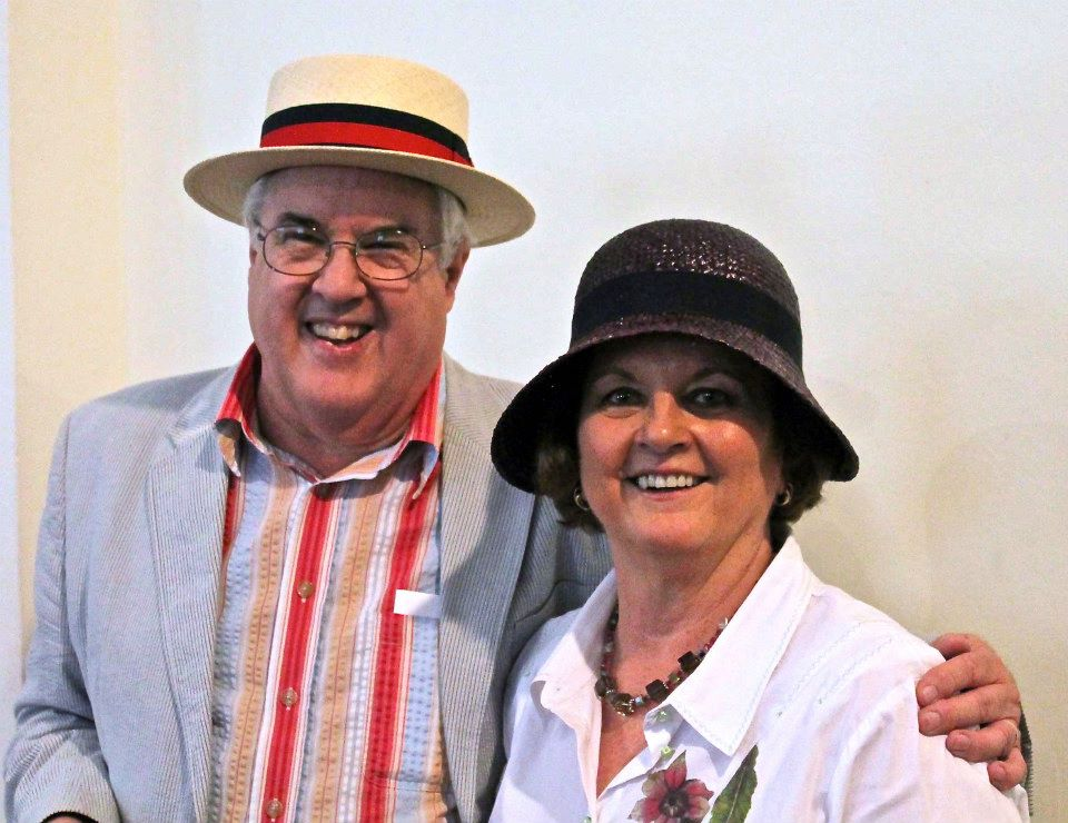Bloomsday Montréal founders Dave and Judith Schurman. Photo courtesy of Bloomsday Montréal.