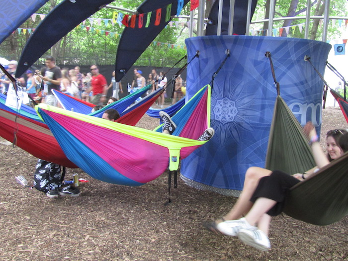 Osheaga Chill Out Space.