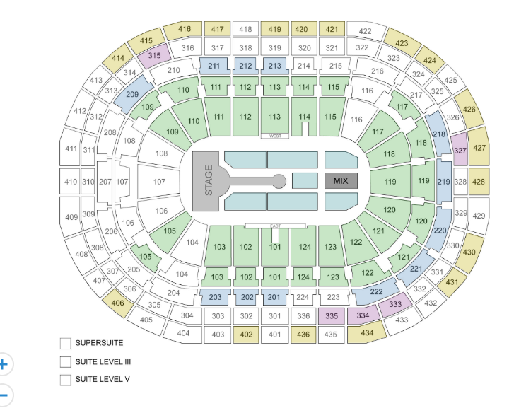 Bell Centre seats from stub hub Coldplay.