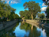 View of the modern Lachine Canal. Image credit: Tango7174/Wikimedia Commons.