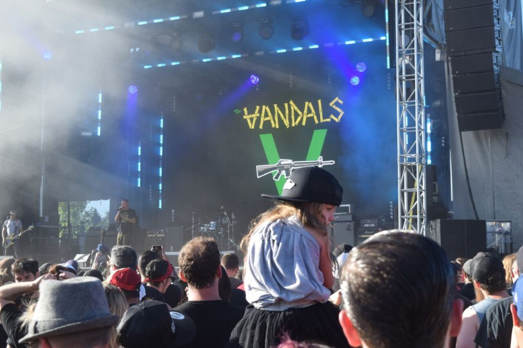 The Vandals. 77 Montreal 2017. Photo by Chris Aitkens.