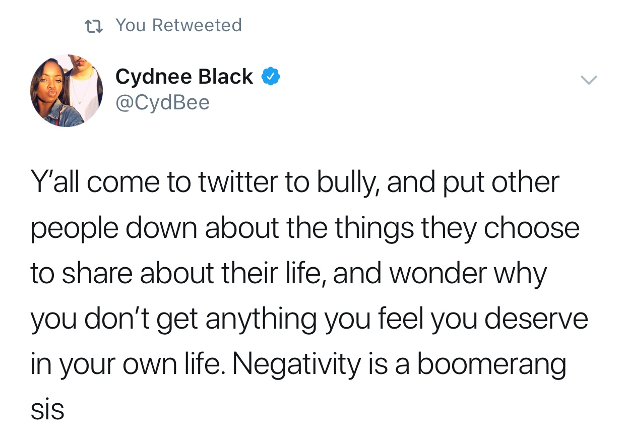 Don't Use Twitter To Bully. Capture by Celina Flores